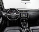 Der Innenraum des VW Jetta Facelift 2015