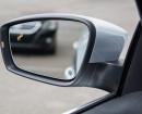 Der Totwinkelwarner am Außenspiegel des VW Jetta Facelift 2015