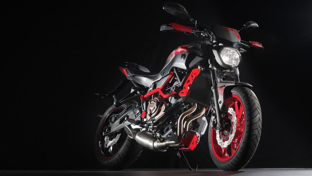 2015er Motorrad-Modell Yamaha MT-07 Moto Cage