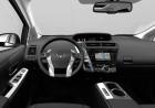 Foto zeigt das Cockpit des 2015er Toyota Prius+