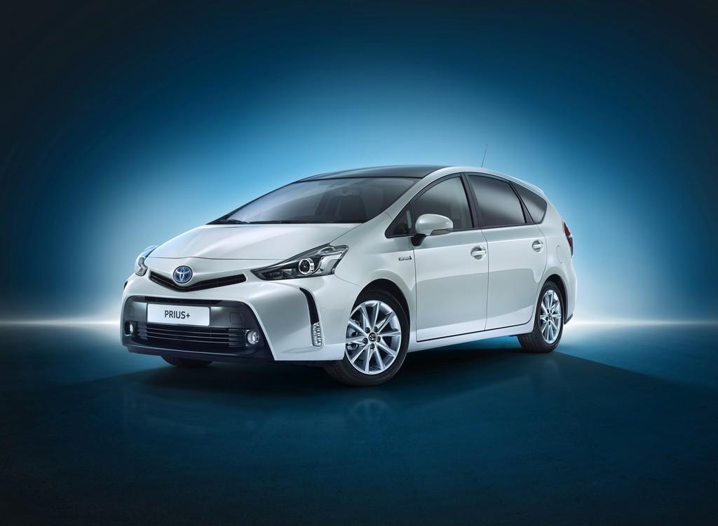 Die Frontpartie des 2015er Toyota Prius+