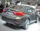 Noch extrovertierteres Design bietet der neue BMW X6.