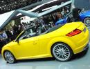 Audi TTS Roadster auf dem Pariser Automobilsalon 2014