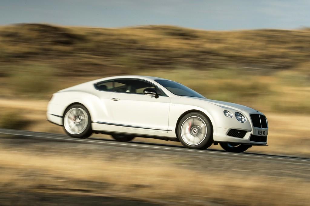 Bentleys Continental GT V8 S bei den Fahrten