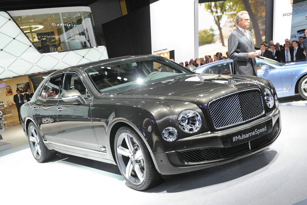 Bentley Mulsanne Speed auf der Pariser Autoshow 2014
