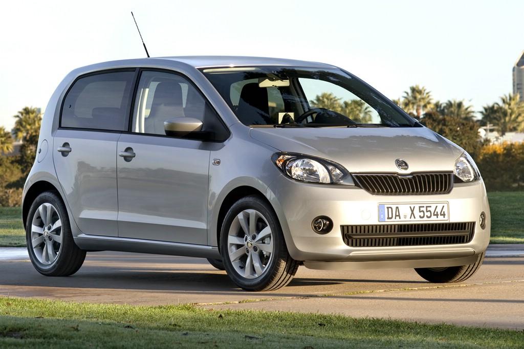 """Den Kleinstwagen Škoda Citigo ASG gibt es jetzt auch als sparsame """"Greentec""""-Version."""