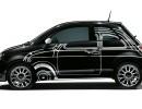 Fiat 500 Ron Arad in der Außenfarbe Schwarz Metallic