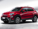 Rotes Sondermodell Fiat 500X Opening Edition 2015