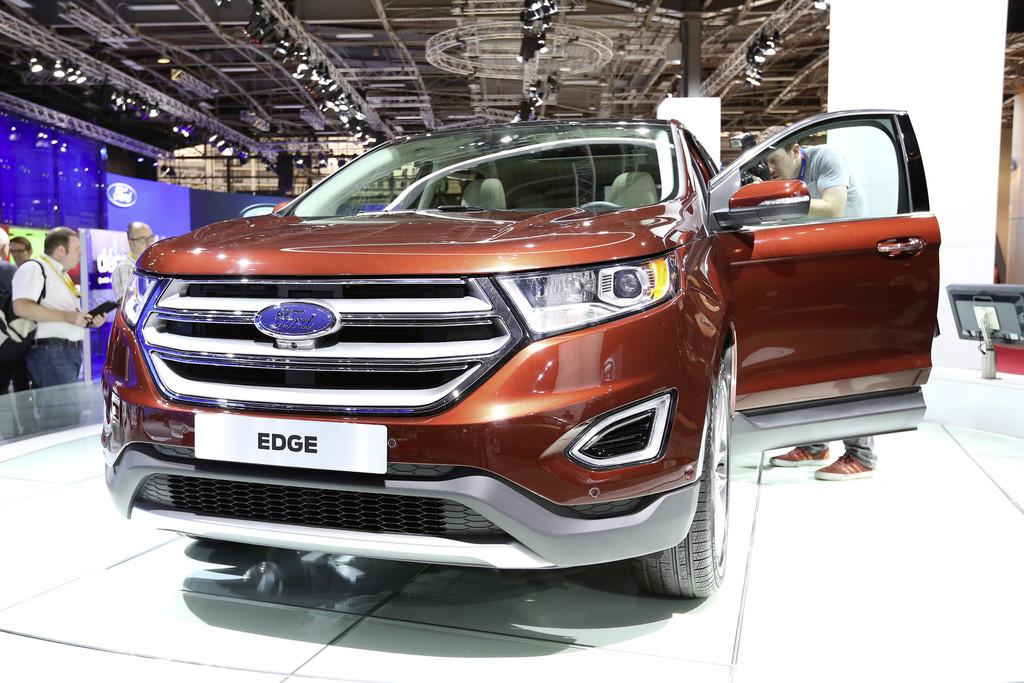 Ford Edge auf der Pariser Autoshow 2014