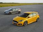 Ford Focus ST Diesel in den Farben gelb und Grau