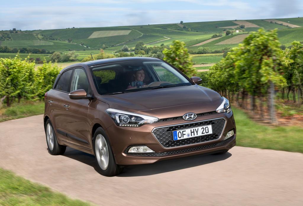 Der 1.0-T-GDI erweitert im Laufe des kommenden Jahres die Motorenpalette des neuen Hyundai i20.