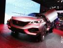 Peugeot Quartz beim Pariser Autosalon 2014