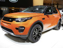 Auf dem Pariser Autosalon präsentiert Land Rover den neuen Discovery Sport