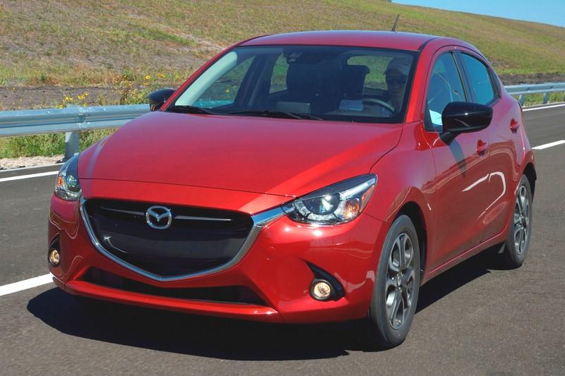 Die Europa Version des Mazda2