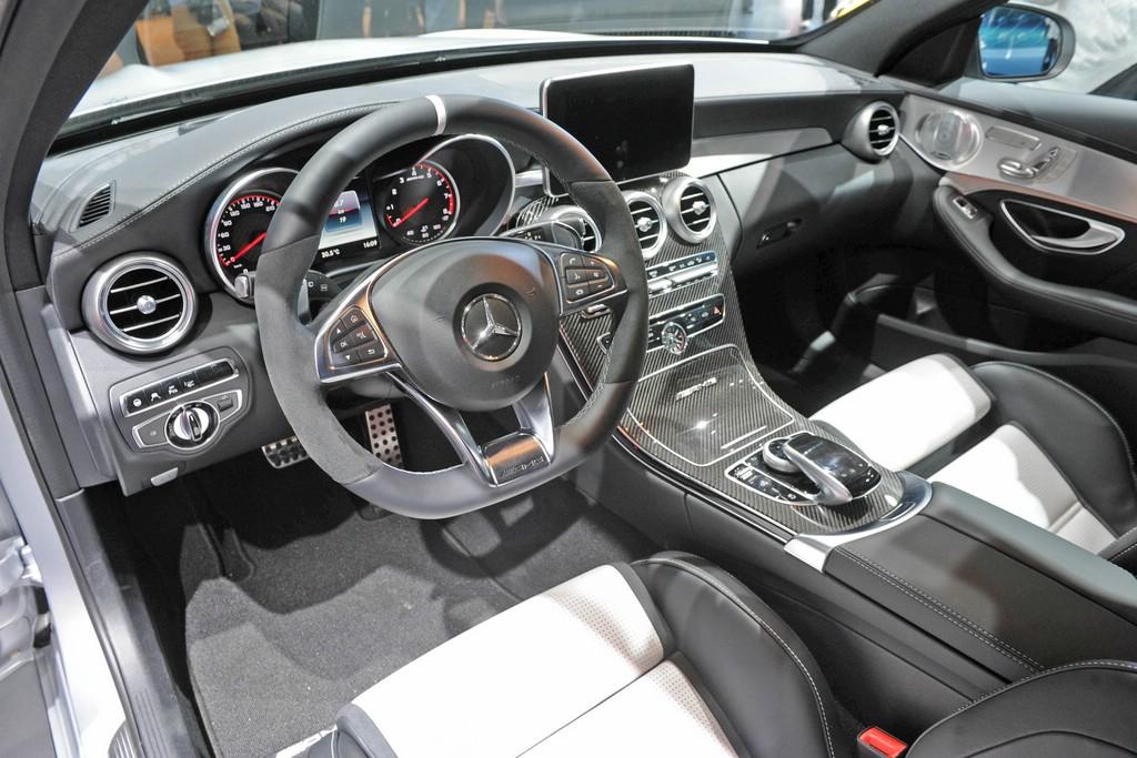 Paris 2014 Mercedes Amg C 63 Ist Ein Kraftvoller