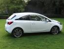 Die Seitenscheiben des Opel Corsa E