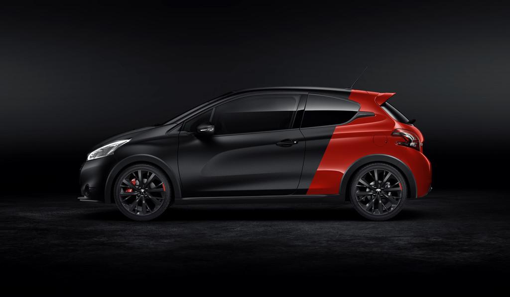 Peugeot Sondermodell 208 GTi 30th in der Seitenansicht