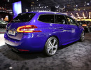 Peugeot präsentiert auf dem Pariser Autosalon den sportlichen 308 SW GT