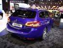 Dunkelblauer Peugeot 308 SW GT wirkt nun sportlicher