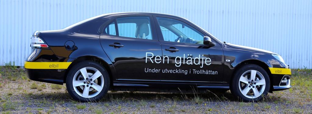 Elektro-Fahrzeug Mittelklasse-Modell Saab 9-3 Electric Vehicle