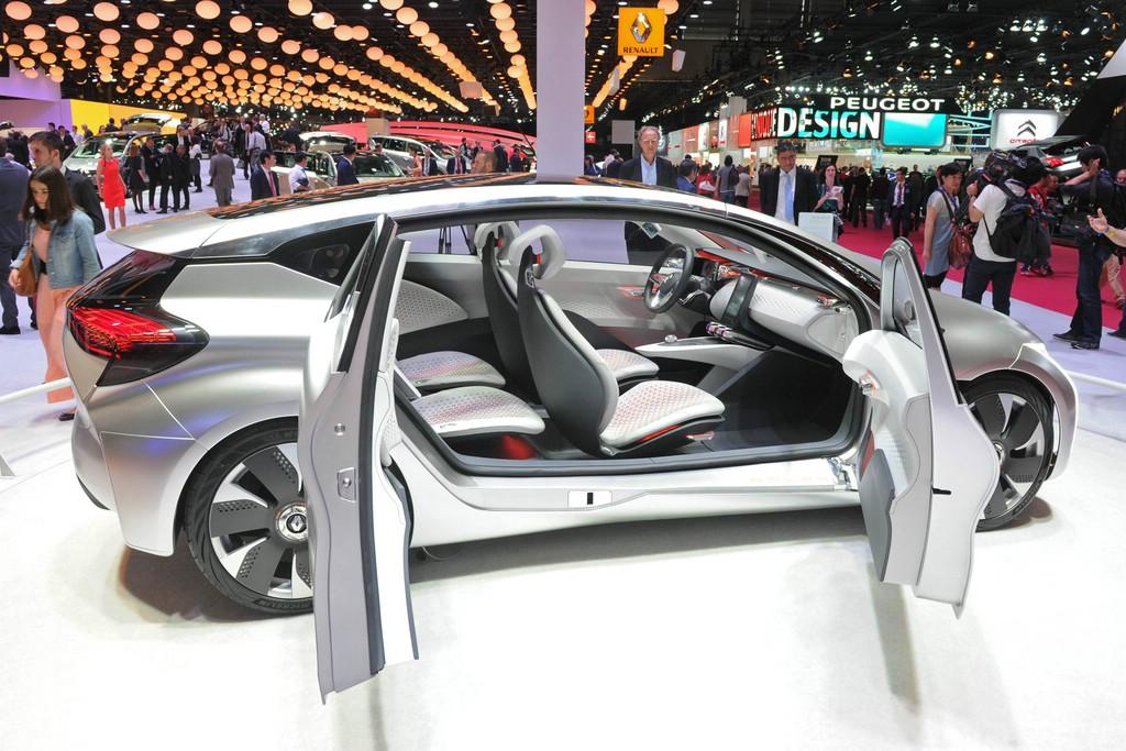 Renault EOLAB auf dem Pariser Autosalon 2014