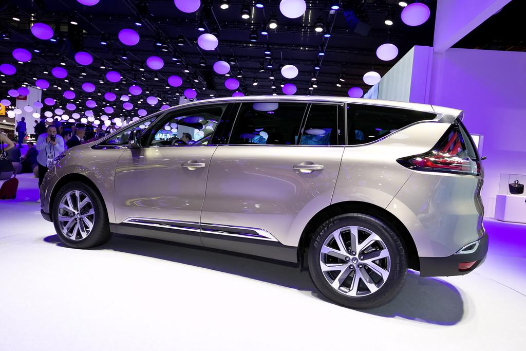 Renault Espace auf der Pariser Autoshow 2014