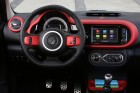Die Mittelkonsole des Renault Twingo 3 mit Navi