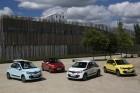 Renault Twingo 3 in verschiedenen Farben