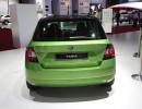 Grüner Skoda Fabia auf der Pariser Motorshow 2014