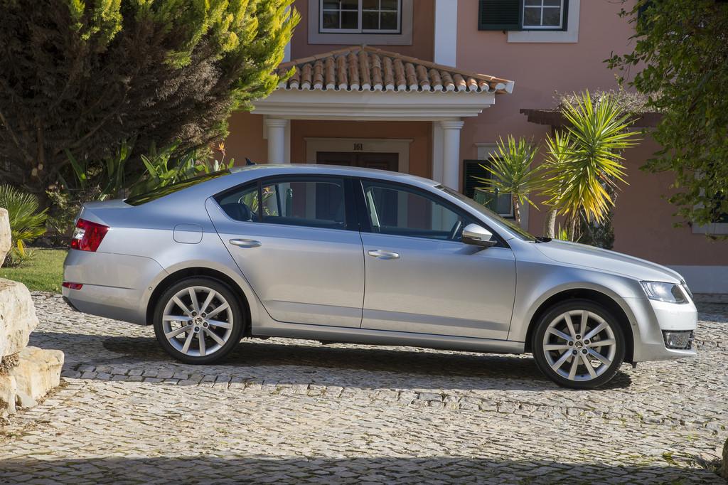 Der aktuelle Skoda Octavia als Limousine