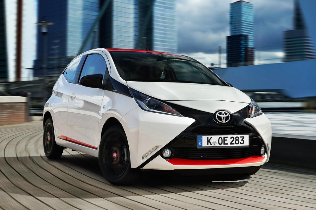 Der Toyota-Kleinstwagen Aygo erwischte einen guten Verkaufsstart.