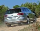 Die Heckansicht des 2014er VW Passat 2.0 TDI 4MOTION