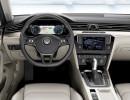 Das Cockpit der 2015er Volkswagen Passat Limousine