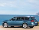 Volkswagen Passat Variant 2015 in Blau Metallic in der Seitenansicht