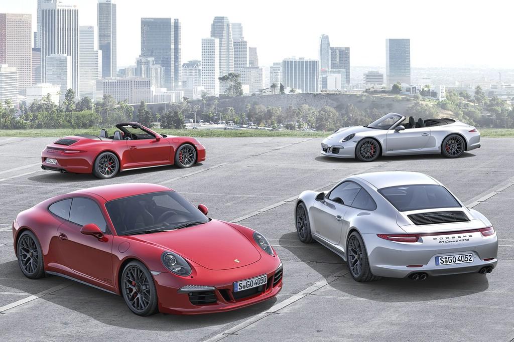 Der Porsche 911 Carrera GTS kommt als Coupé oder Cabrio