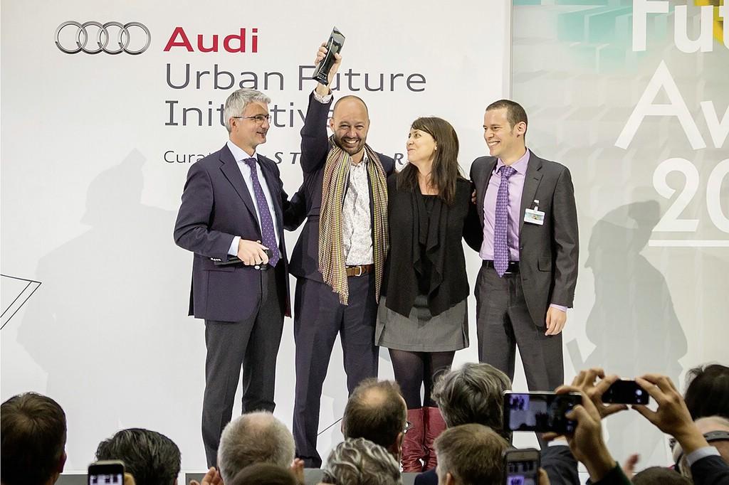 """Gewinner sind die Datensammler aus Mexiko City mit ihrem """"Betriebssystem für urbane Mobilität"""""""