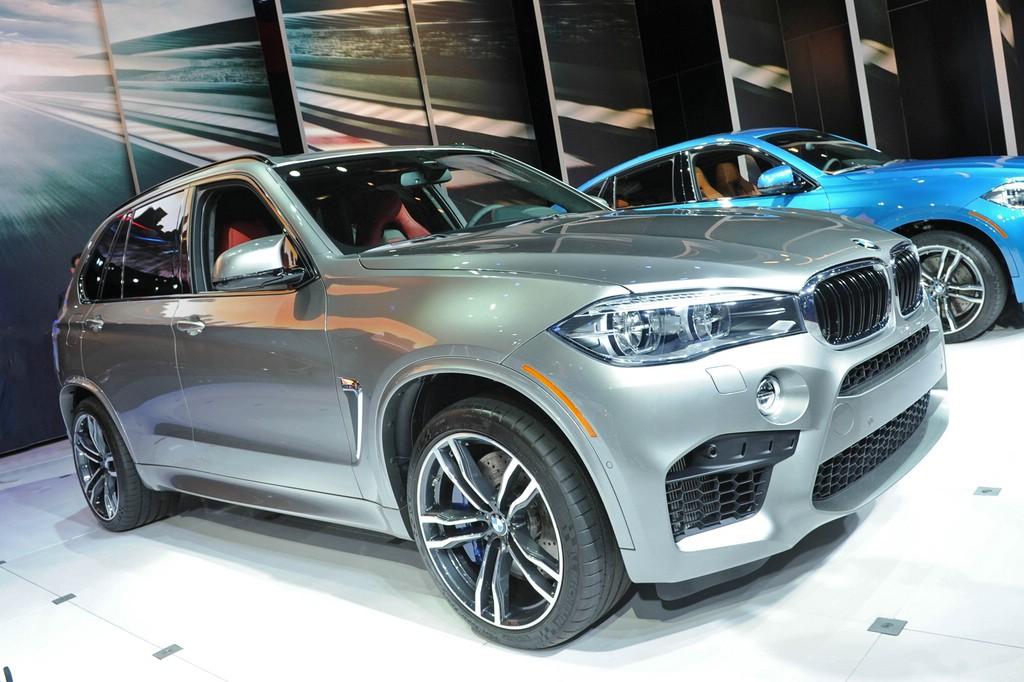 BMW präsentiert X5 M auf der LA Auto Show 2014