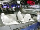 Der Innenraum des Cabrios Bentley Grand Convertible