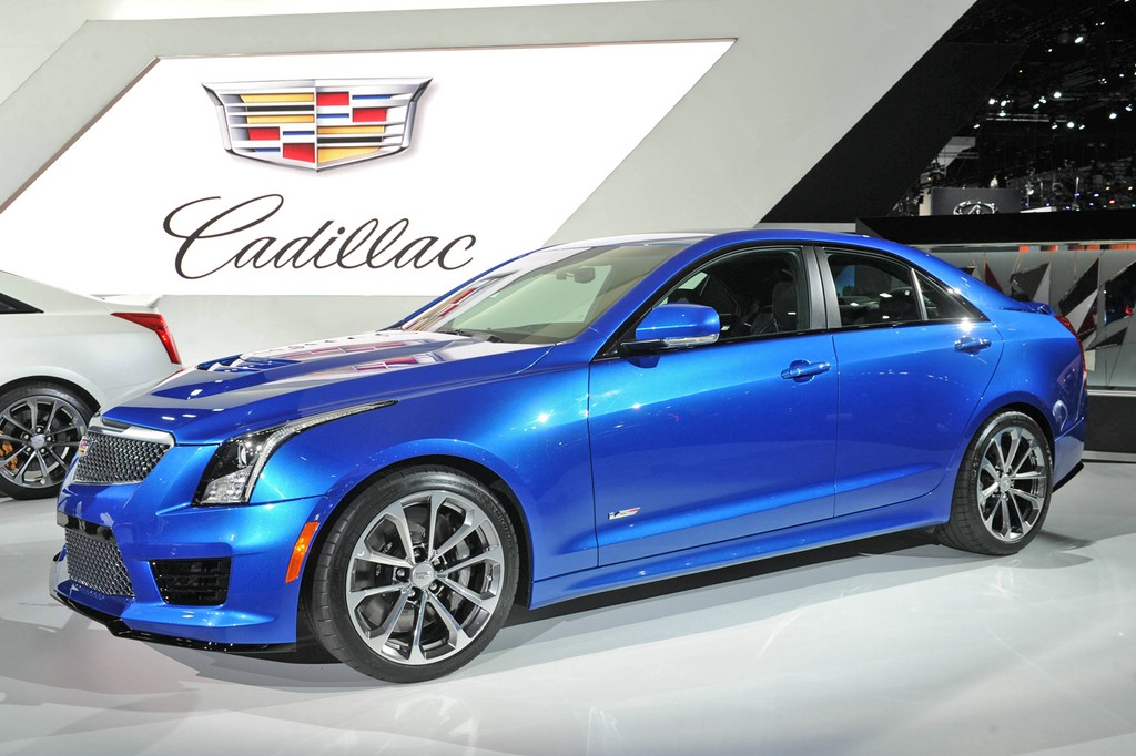 Cadillac ATS-V auf der 2014er Los Angeles Motor Show