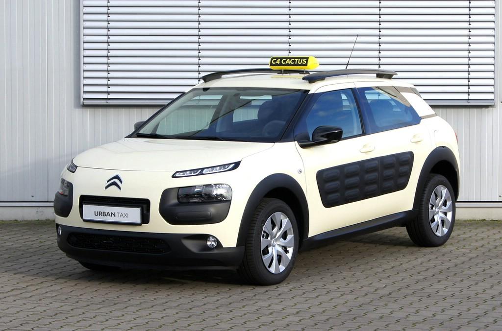 Fachmesse in Köln: Konzeptauto Citroën C4 Cactus Urban Taxi.