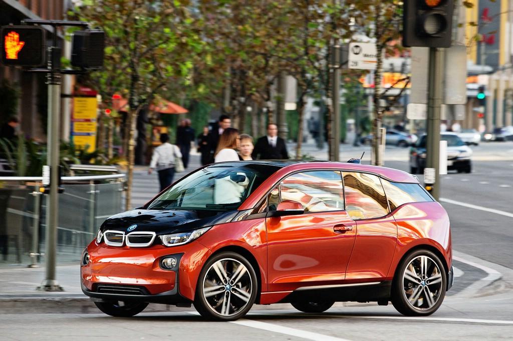 Der BMW I3 ist das Green Car oft he Year 2015
