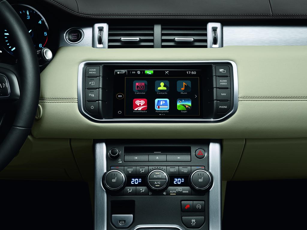 In-Control-Konnektivitätssystem von Jaguar Land Rover.