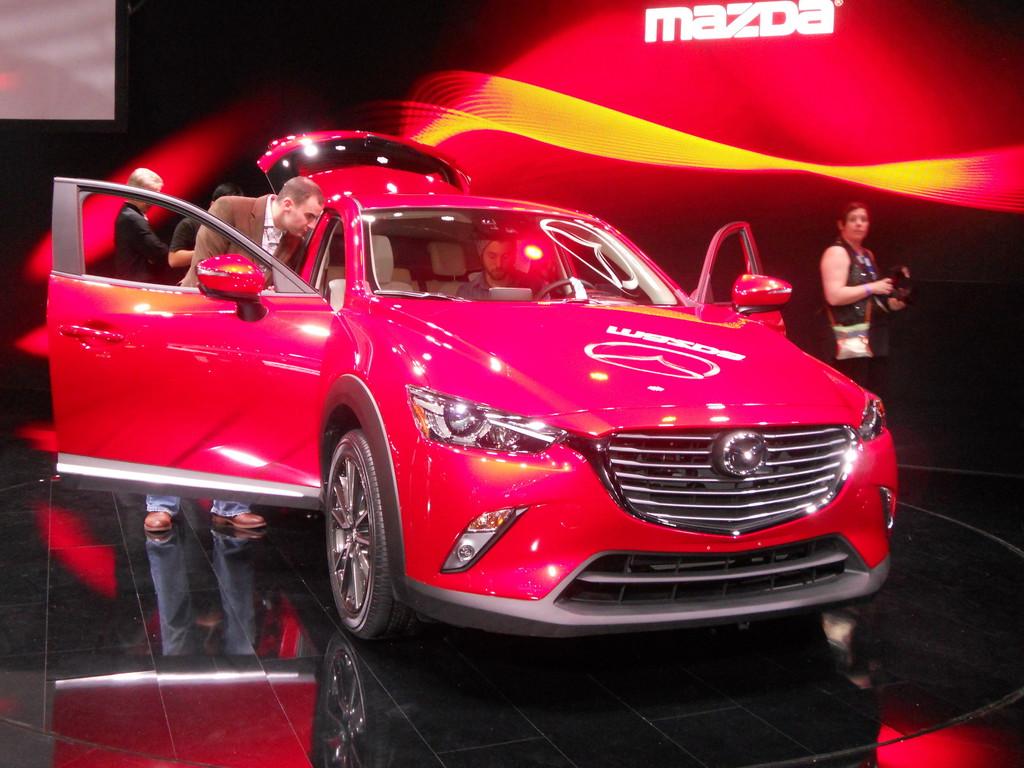 Mazda CX-3 auf der Los Angeles 2014