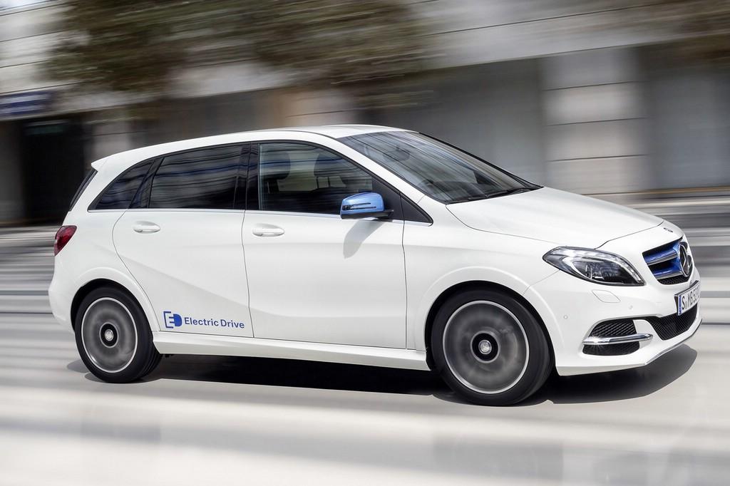 Verkaufsstart für die Mercedes B-Klasse Electric Drive.