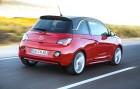 Opel ADAM 1.4 ecoFlex in rot in der Heckansicht