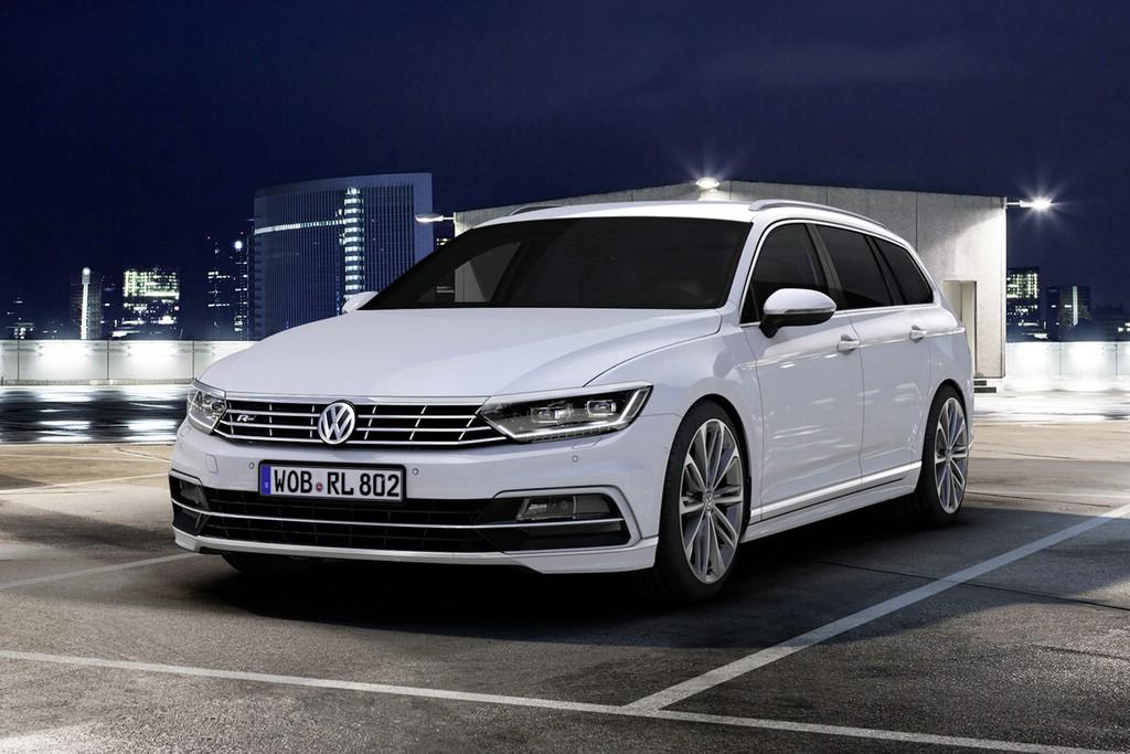 Der neue VW Passat Variant R-Line.