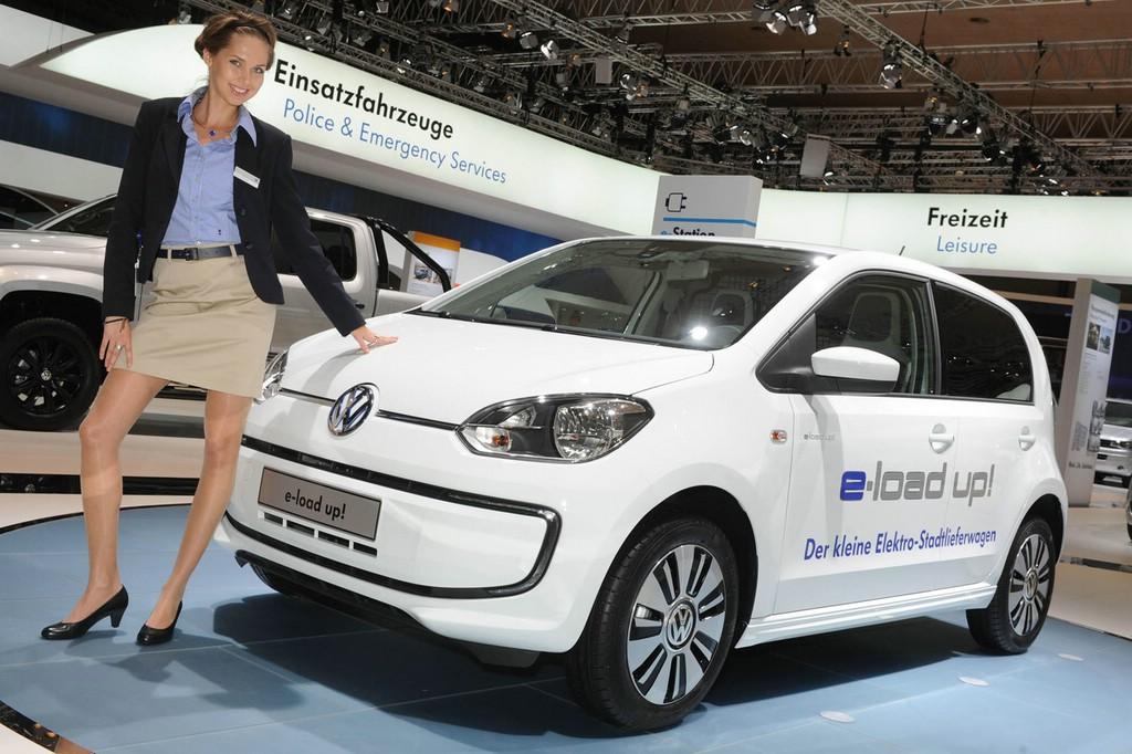 Der kleine Lastenträger VW e-load up! Ist ab sofort bestellbar