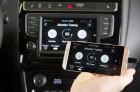 Volkswagen-Workshop zu Innovationen: Mit der App das wirtschaftliche Fahren trainieren.