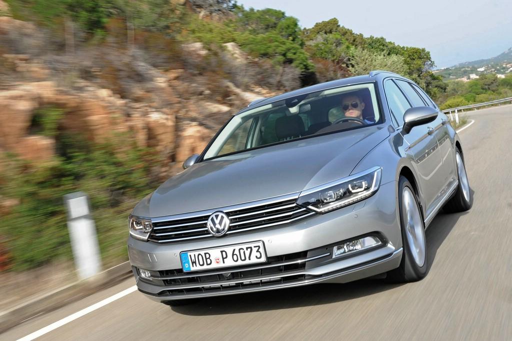 Beide neuen Volkswagen Passat gehören mit fünf NCAP-Sternen zu den sichersten Autos.