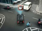 Volvos Sicherheitssysteme vernhindern auch in einer solchen Situation den Zusammenprall.
